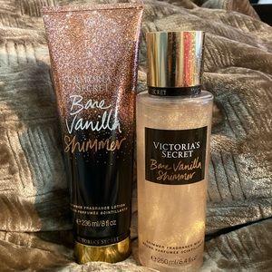 Shimmer Fragrance Lotion/Shimmer Fragrance Mist